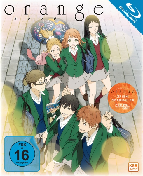 Orange - Gesamtedition: Episode 01-13 (3 Blu-rays)