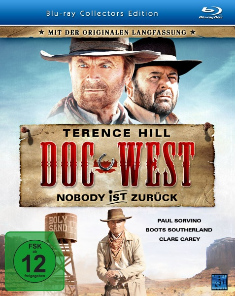 Doc West - Nobody ist zurück - Collectors Edition (Blu-ray)