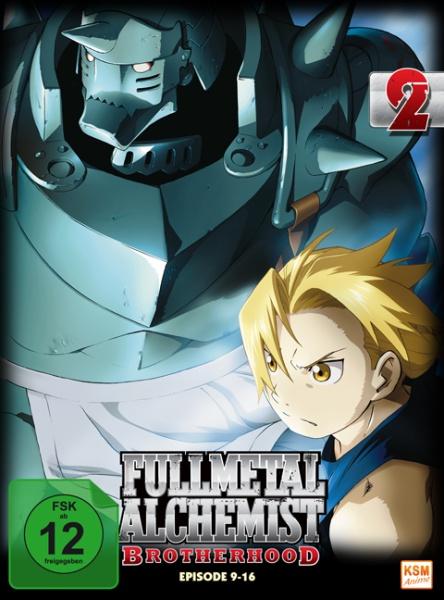 Fullmetal Alchemist: Brotherhood - Volume 2: Folge 09-16 (2 DVDs)