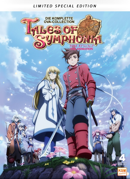 Tales of Symphonia - Limited Edition (4 DVDs)