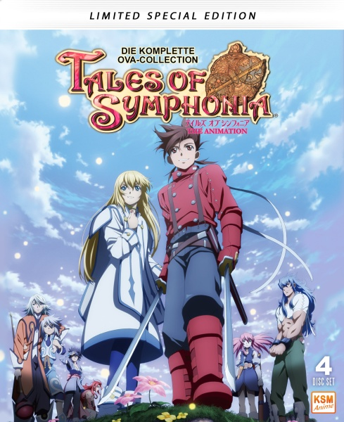 Tales of Symphonia - Limited Edition (4 Blu-rays)