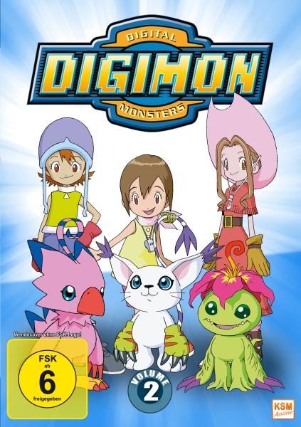 Digimon Adventure - Staffel 1, Volume 2: Episode 19-36 (3 DVDs)