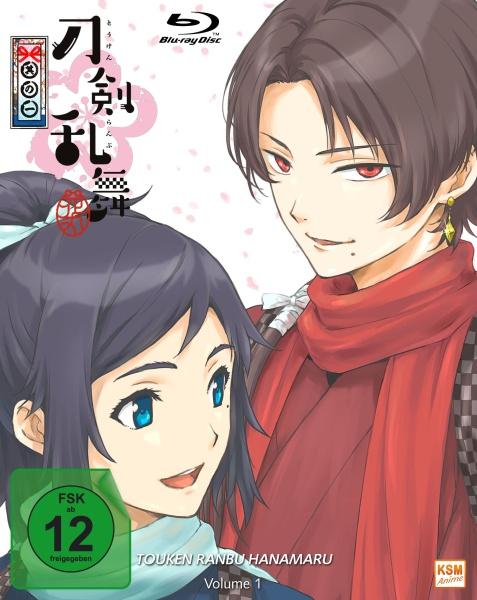 Touken Ranbu Hanamaru - Volume 1: Episode 01-04 (Blu-ray)