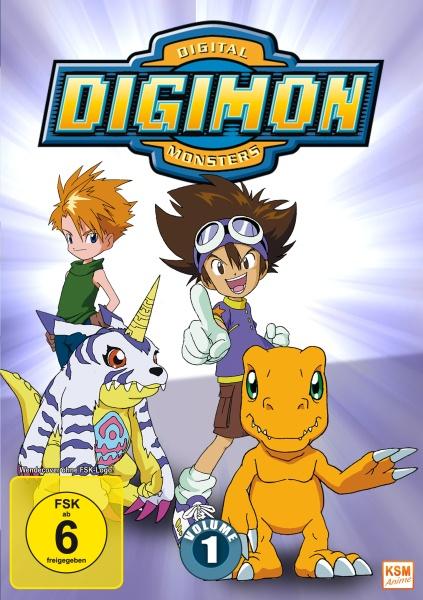 Digimon Adventure - Staffel 1, Volume 1: Episode 01-18 (3 DVDs)