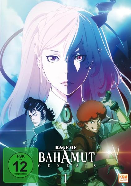 Rage of Bahamut: Genesis - Volume 1: Episode 01-06 (DVD)