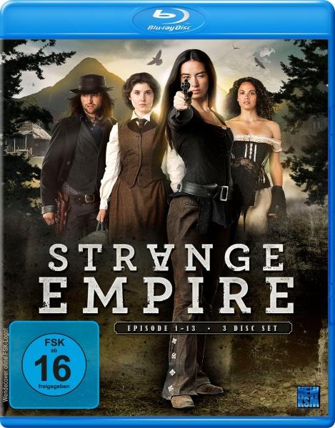 Strange Empire - Staffel 1: Episode 01-13 (3 Blu-rays)