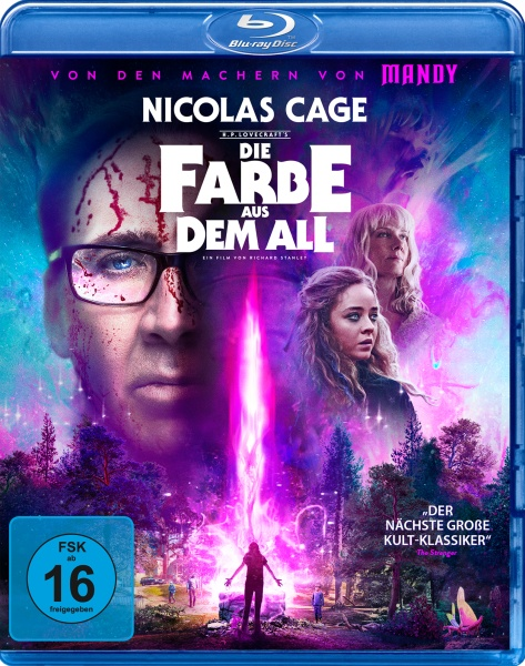 Die Farbe aus dem All - Color Out of Space (Blu-ray)