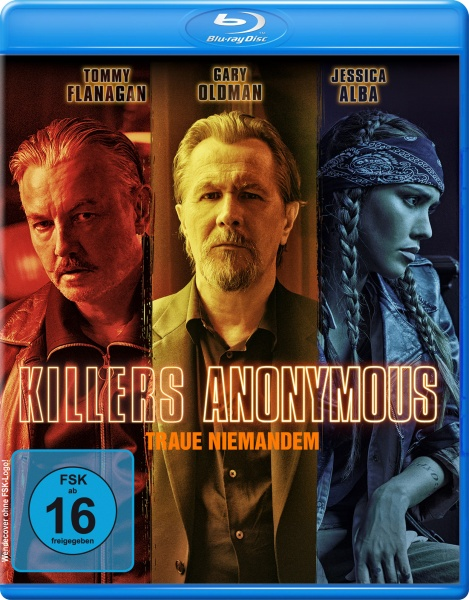 Killers Anonymous - Traue niemandem (Blu-ray)