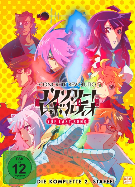 Concrete Revolutio - The Last Song - Staffel 2 (Folge 01-11) (2 DVDs)