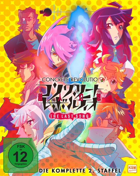 Concrete Revolutio - The Last Song - Staffel 2 (Folge 01-11) (2 Blu-rays)
