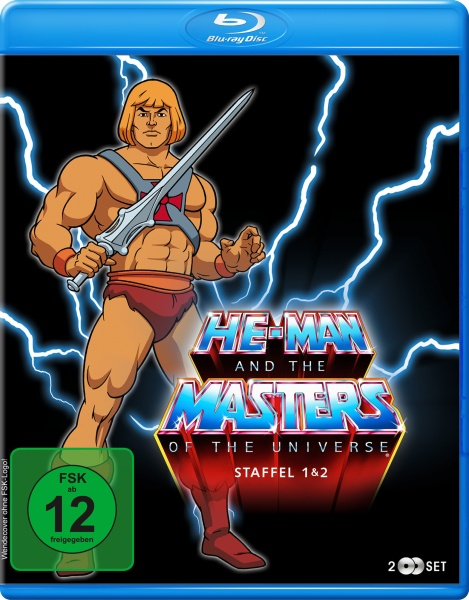 He-Man and the Masters of the Universe - Staffel 1+2 (2 Blu-rays)