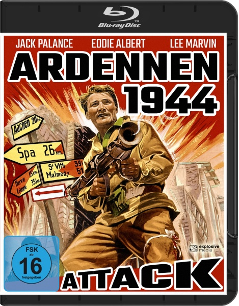 Ardennen 1944 (Attack!) (Blu-ray)