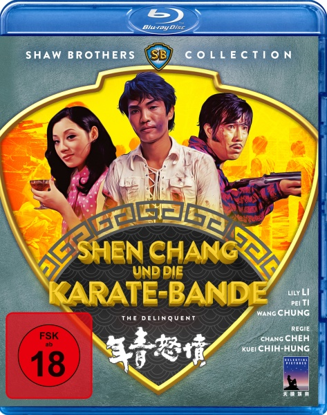 Shen Chang und die Karate-Bande (Shaw Brothers Collection) (Blu-ray)