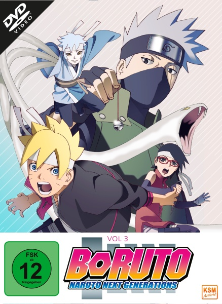 Boruto: Naruto Next Generations - Volume 3 (Episode 33-50) (3 DVDs)