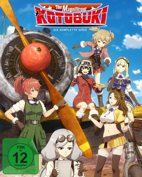 The Magnificent Kotobuki - Gesamtbox (Episode 1-12) (3 Blu-rays)