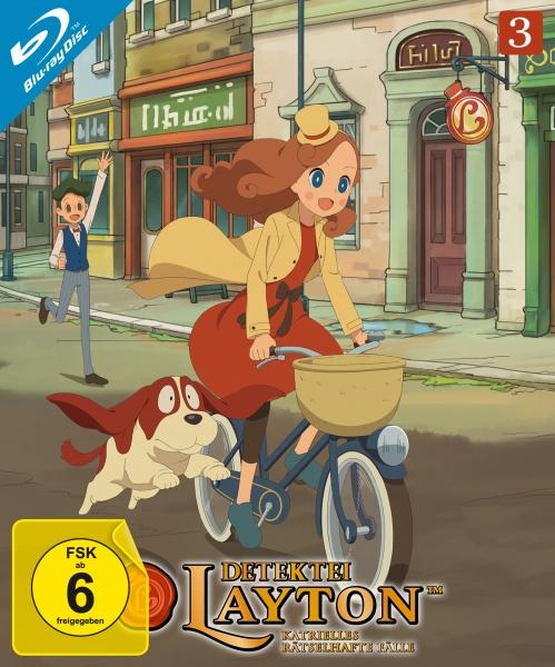Detektei Layton - Katrielles rätselhafte Fälle: Volume 3 (Episode 21-30) (2 Blu-rays)