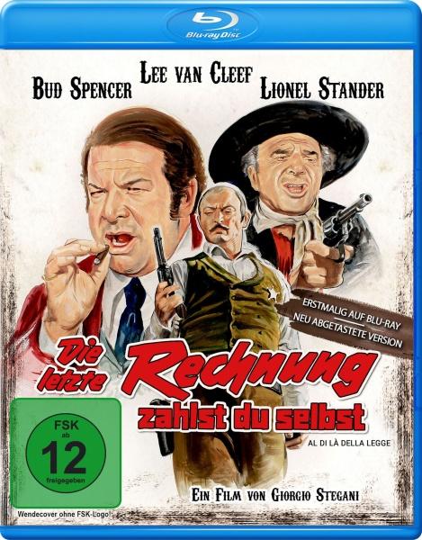 Die letzte Rechnung zahlst Du selbst (Bud Spencer) (Blu-ray)