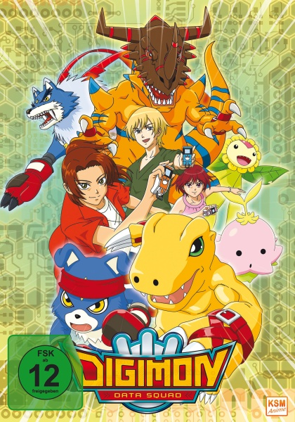 Digimon Data Squad - Gesamtedition (Episode 1-48) (9 DVDs)