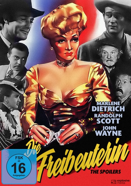 Die Freibeuterin (The Spoilers) (DVD)