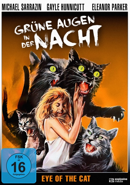 Grüne Augen in der Nacht (Eye of the Cat) (DVD)