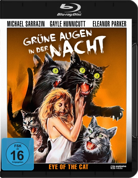 Grüne Augen in der Nacht (Eye of the Cat) (Blu-ray)