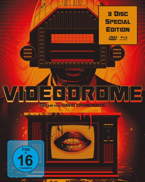 Videodrome (Special Edition, 1 Blu-ray + 2 DVDs)