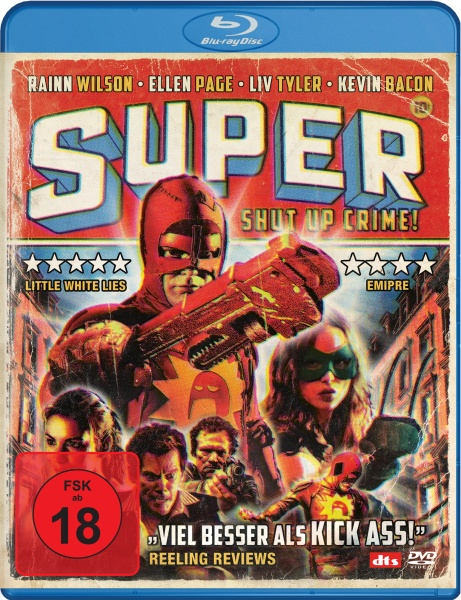 Super - Shut Up, Crime! (Blu-ray)