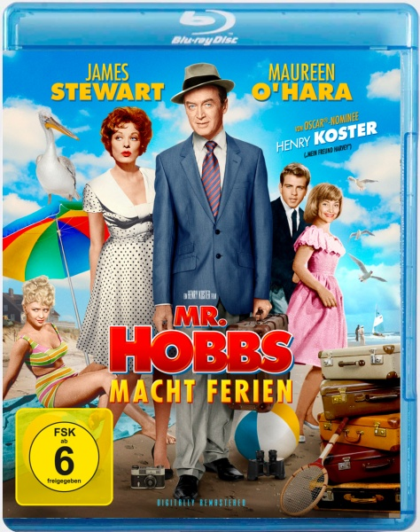 Mr. Hobbs macht Ferien (Blu-ray)