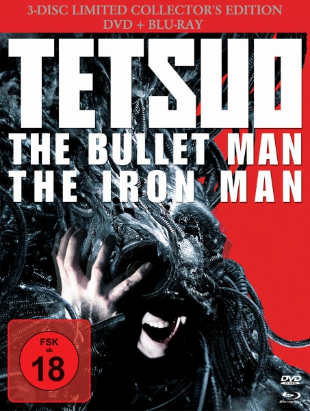 Tetsuo: The Bullet Man 3-Disc Limited Coll. Edition - Mediabook (Blu-ray)