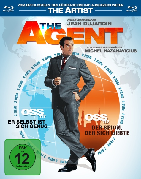 The Agent - OSS 117, Teil 1 & 2 (2 Blu-rays)