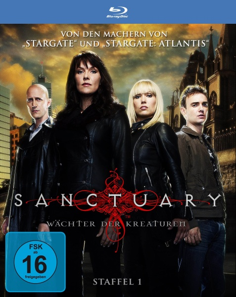 Sanctuary - Wächter der Kreaturen, Staffel 1 in HD (3 Blu-rays)