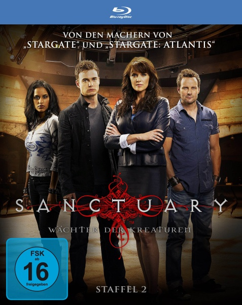 Sanctuary - Wächter der Kreaturen, Staffel 2 in HD (3 Blu-rays)
