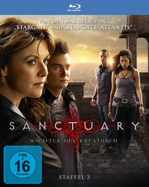 Sanctuary - Wächter der Kreaturen, Staffel 3 in HD (4 Blu-rays)