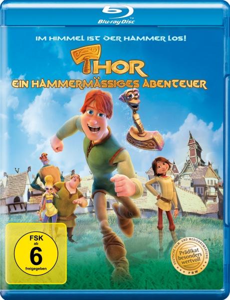 Thor - Ein hammermäßiges Abenteuer (Blu-ray)
