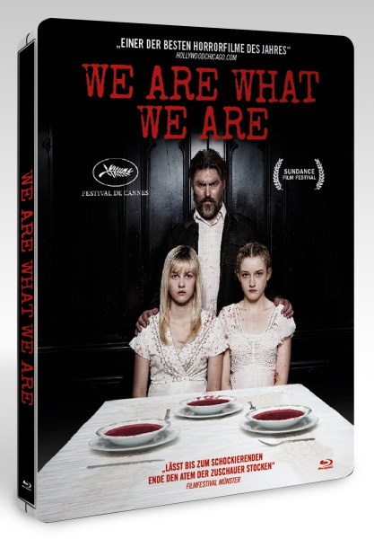 We Are What We Are (Steelbook) (Blu-ray)
