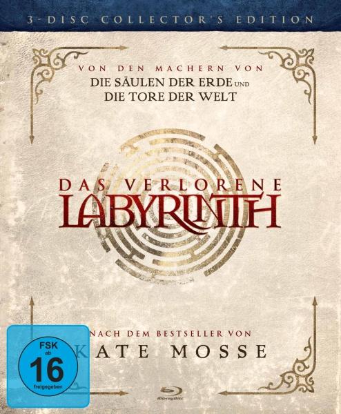 Das verlorene Labyrinth Special Edition (3 Blu-rays)
