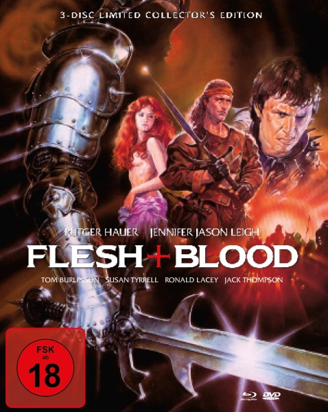 Flesh + Blood - Mediabook (1 Blu-ray & 2 DVDs)