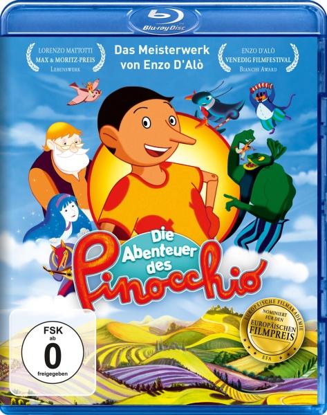Die Abenteuer des Pinocchio (Blu-ray)