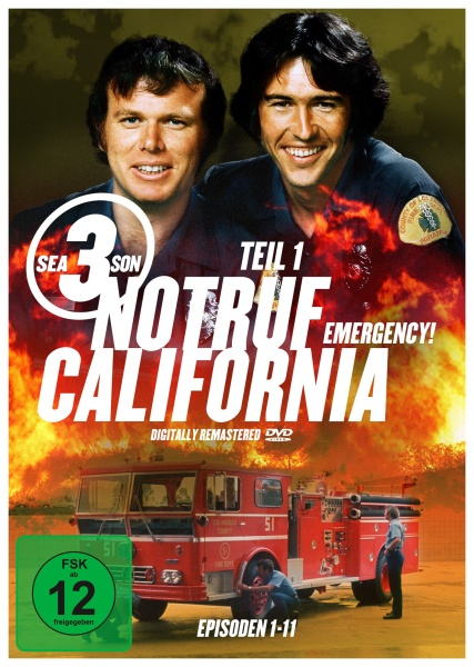 Notruf California - Staffel 3.1 (3 DVDs)