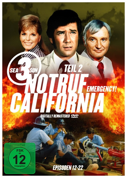 Notruf California - Staffel 3.2 (3 DVDs)