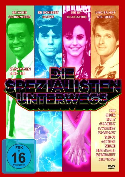 Die Spezialisten unterwegs (Neuauflage) (5 DVDs)