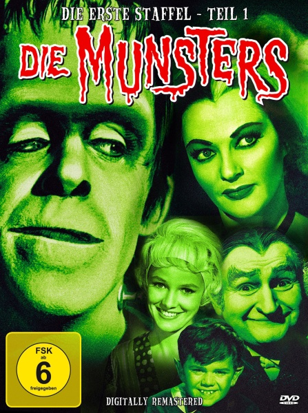 Die Munsters - Staffel 1, Teil 1 (3 DVDs)