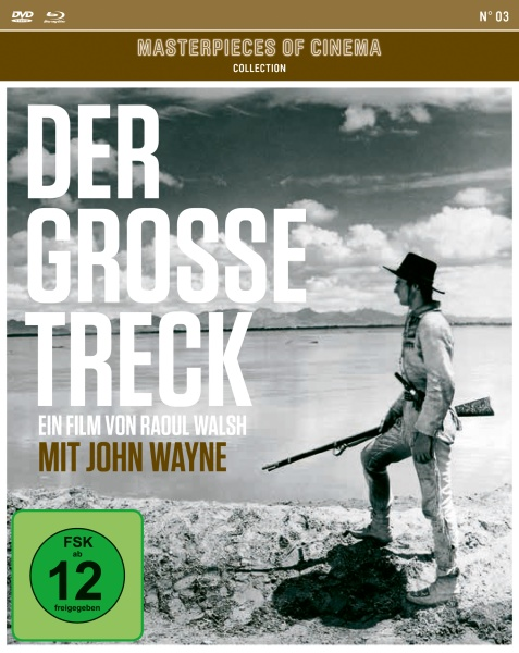 Der große Treck (Masterpieces of Cinema) (1 Blu-ray + 2 DVDs)