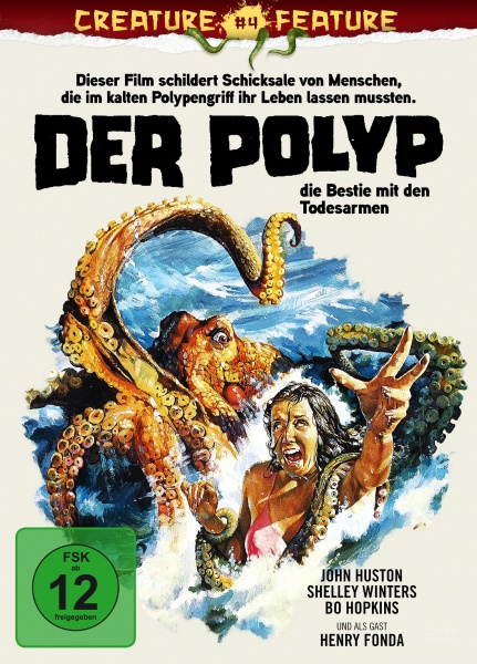 Der Polyp - Die Bestie mit den Todesarmen (Creature Feature Collection #4) (DVD)