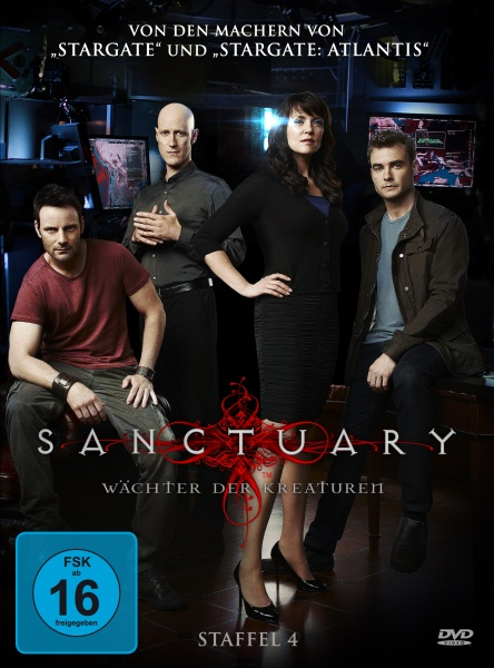 Sanctuary - Wächter der Kreaturen, Staffel 4 (4 DVDs)