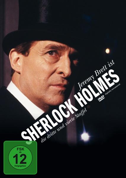 Sherlock Holmes Staffel 3 & 4 (4 DVDs) (Neuauflage)