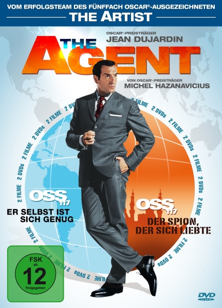 The Agent - OSS 117, Teil 1 & 2 (2 DVDs)