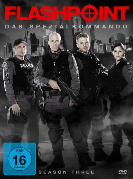 Flashpoint - Das Spezialkommando, Staffel 3 (Neuauflage) (3 DVDs)