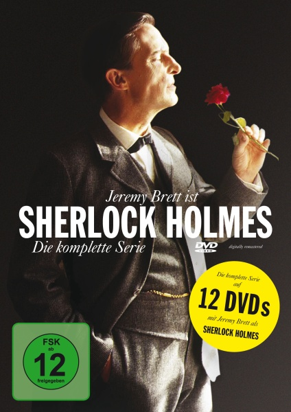 Sherlock Holmes - Die komplette Serie (12 DVDs) (Neuauflage)