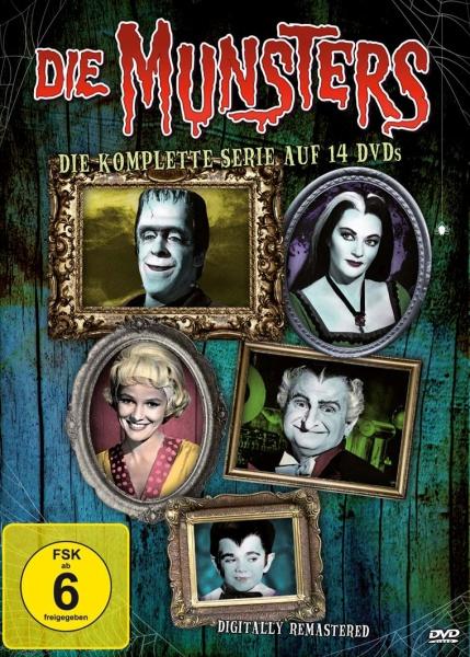 Die Munsters - Die komplette Serie (14 DVDs) (Neuauflage)